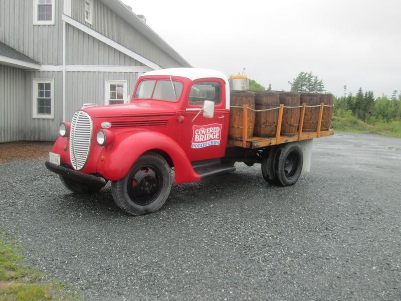 Vintage Potato Chip Truck